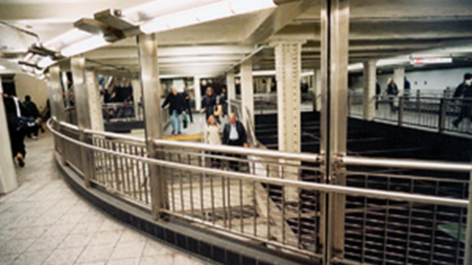 Rehabilitation of the Times Square Subway